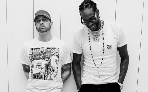 """EMINEM difende il suo nuovo album nel nuovo """"Chloraseptic"""" Remix con 2 Chainz & Phresher.. su HipHopFreshIta"""